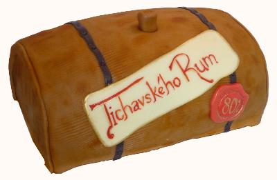 čokoládovo-rumový