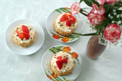 dortíčky jahodové